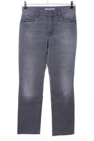 Gardeur Straight-Leg Jeans hellgrau Casual-Look