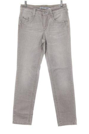 Gardeur Jeans a gamba dritta beige stile casual