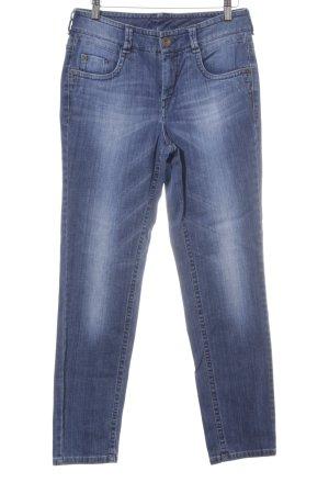 Gardeur Jeans a gamba dritta blu stile casual