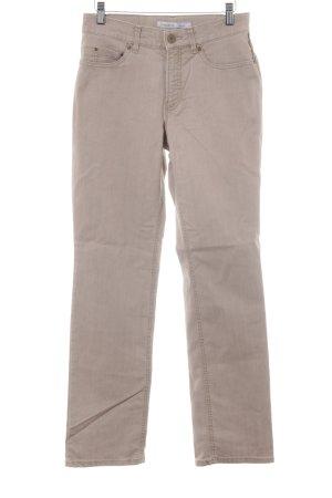 Gardeur Straight-Leg Jeans creme Casual-Look