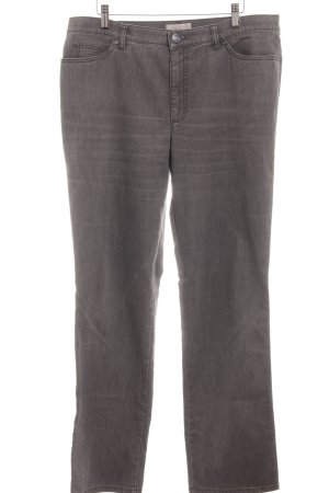 Gardeur Jeans a gamba dritta grigio scuro stile casual