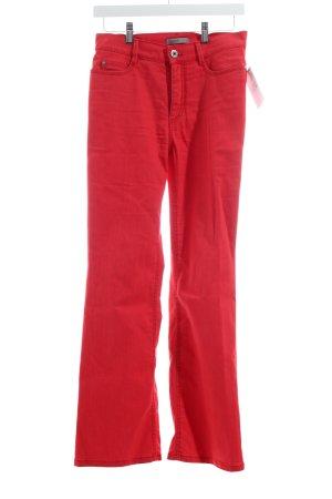 Gardeur Straight-Leg Jeans hellrot Casual-Look