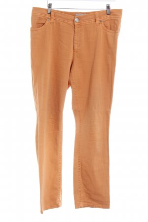 Gardeur Straight-Leg Jeans orange Casual-Look