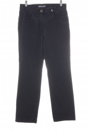 Gardeur Jeans a gamba dritta nero