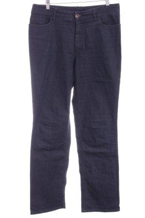Gardeur Straight-Leg Jeans stahlblau-dunkelblau Casual-Look