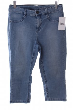 Gardeur Stretch Jeans kornblumenblau Washed-Optik