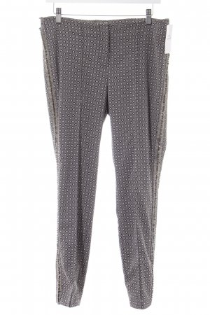 Gardeur Treggings grey-black graphic pattern Rivet elements