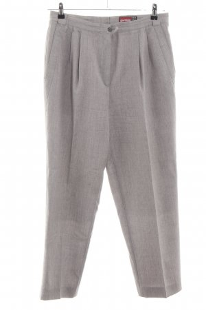 Gardeur Woolen Trousers natural white flecked business style
