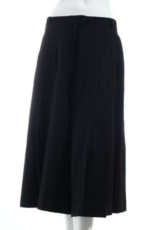 Gardeur Wollrock schwarz klassischer Stil