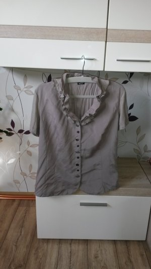 Gerry Weber Blouse en crash brun sable viscose