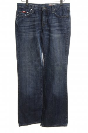 Gas Boot Cut Jeans blau Casual-Look