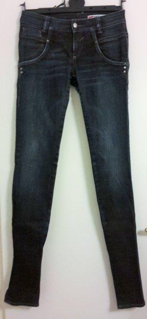 GAS Jeans mit Ledertaschen Gr. 27
