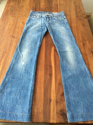 GAS Jeans mit Schlag W25 L34