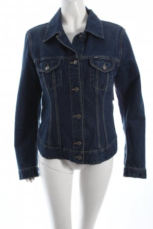 Gas Jeansjacke blau Casual-Look