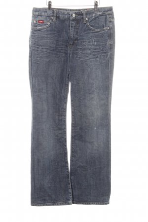 Gas Spijker flares veelkleurig Jeans-look