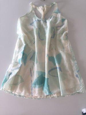 Gas Kleid Baumwoll/Seide Gemisch
