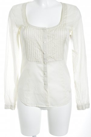 Gas Langarm-Bluse creme Casual-Look