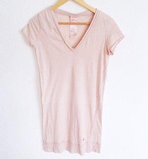 GAS Longshirt Shirt Lang Rosé Nude American Vintage COS Yoga Maje Iro S M