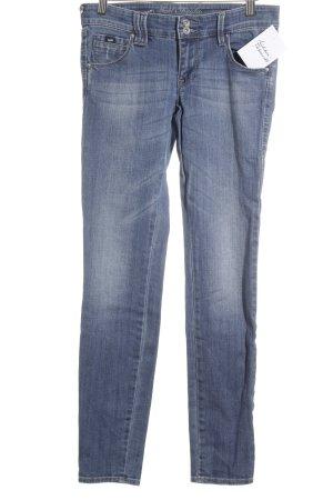 Gas Skinny Jeans blassblau Jeans-Optik