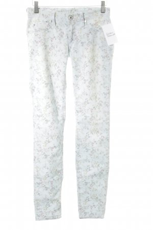Gas Skinny Jeans florales Muster Casual-Look
