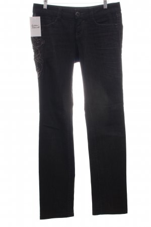 "Gas Straight-Leg Jeans ""Darline Glam"""