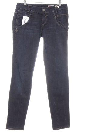 Gas Straight-Leg Jeans mehrfarbig schlichter Stil