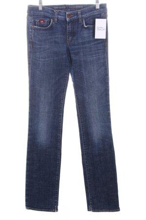 "Gas Straight-Leg Jeans ""Monroe"" dunkelblau"