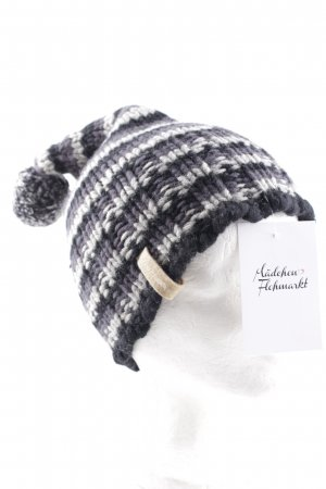 Gas Chapeau en tricot motif rayé style décontracté