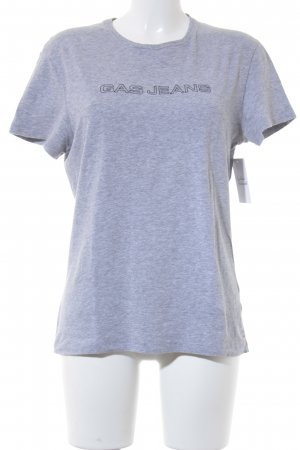Gas T-Shirt grau Casual-Look