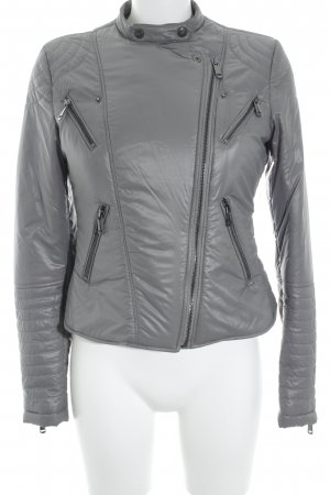 Gas Winterjacke hellgrau Casual-Look