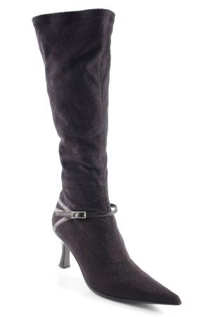 Gastone Lucioli High Heel Stiefel schwarz Elegant