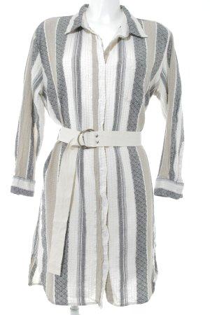 Gat Rimon Hemdblusenkleid Streifenmuster Vintage-Look