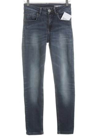 Gaudi Jeans Stretch Jeans stahlblau Casual-Look