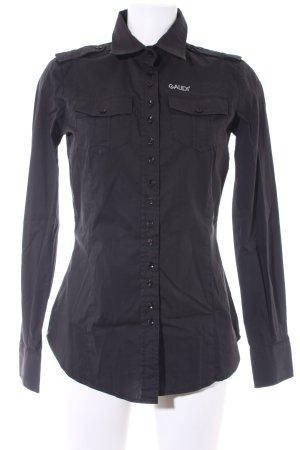 Gaudi Camisa de manga larga negro look casual