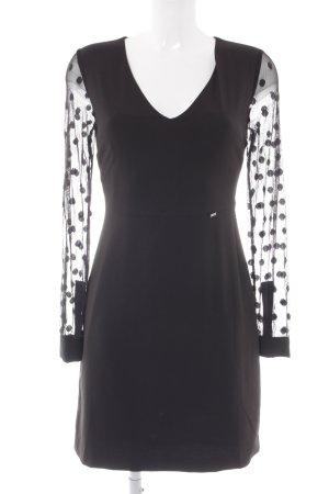 Gaudi Langarmkleid schwarz Elegant