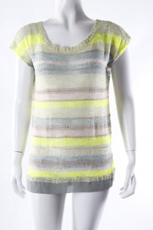 Gaudi Netzshirt striped