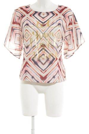 Gaudi Shirttunika Allover-Druck Elegant