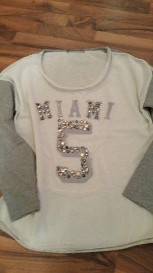 Gaudi Sweatshirt mit Perlen/Steinchen