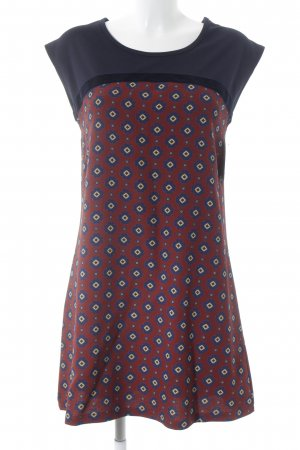 gazel Vestido tipo overol Mezcla de patrones elegante