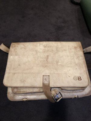 College Bag cream-grey brown