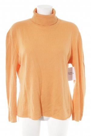 GCfontana Turtleneck Sweater light orange casual look