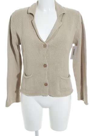 GCfontana Strickjacke hellbraun Casual-Look