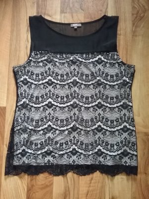 GDM Lace Top black-natural white