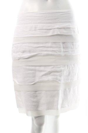 GDM Stufenrock weiß Nude-Look