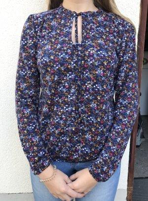 geblümte Bluse Größe M kaum getragen