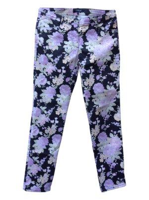 Mark Adam Pantalone cinque tasche multicolore Tessuto misto