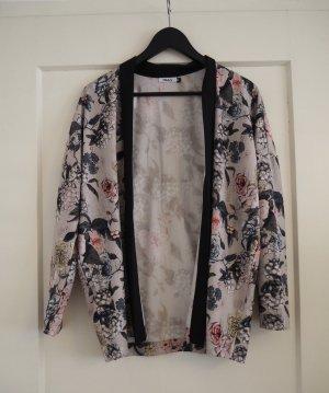 Geblümte Kimono-Jacke