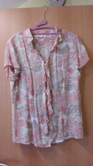 Maria Belessi Ruche blouse veelkleurig Synthetische vezel