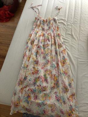 Geblümtes bodenlanges Kleid von NKD