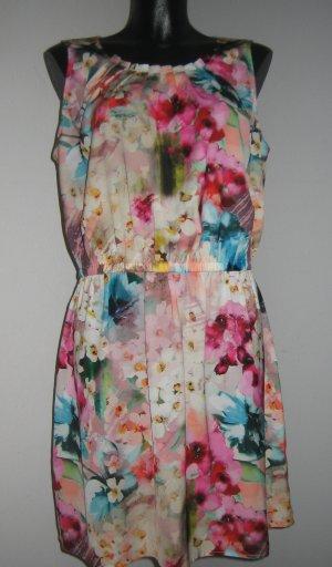 Vestido de cóctel multicolor